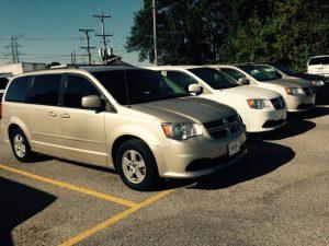 7 Passenger Rental Van